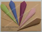 Coloured Sheets of Paper