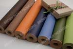Roll - Olive colour on brown kraft