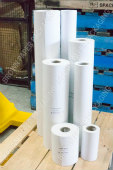 Plain White Paper Roll